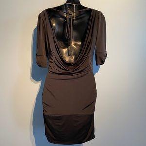 Marciano Waterfall back dress